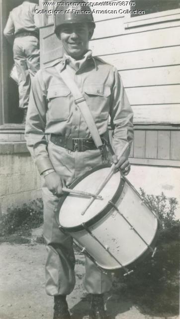 Bert Dutil, Fort Jackson, South Carolina, ca. 1950