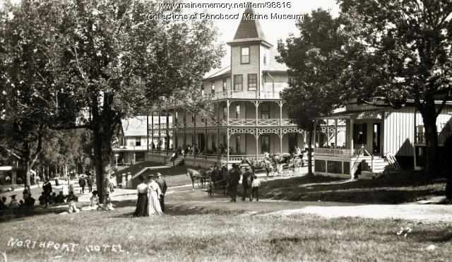 Northport Hotel, ca. 1900