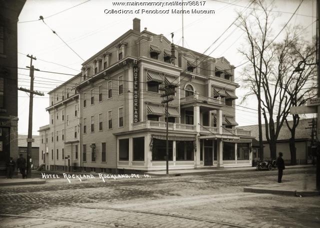Hotel Rockland, ca. 1920