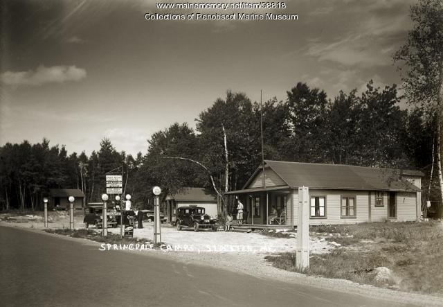 Springdale Camps, Stockton Springs, ca. 1925
