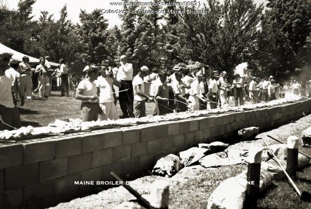 Maine Broiler Day, Belfast, 1949