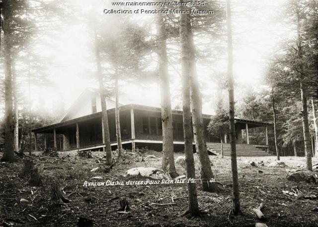 Avalon Casino, Joyces Point, Deer Isle, ca. 1920