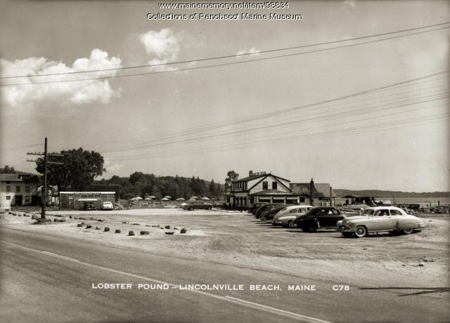 Lobster Pound, Lincolnville Beach, ca. 1948