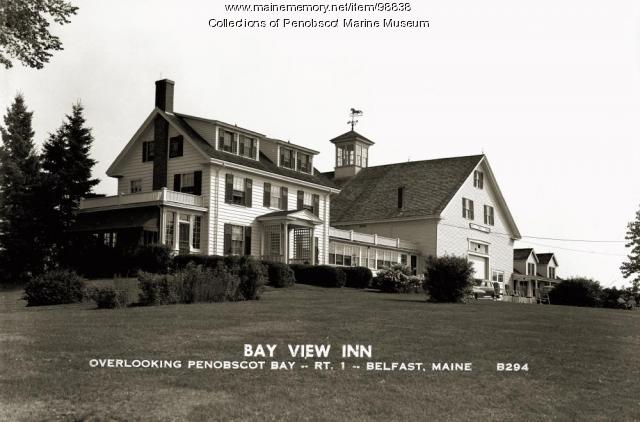 Bay View Inn, Belfast, ca. 1938