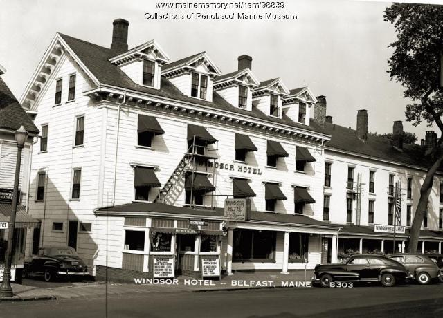 Windsor Hotel, Belfast, ca. 1940