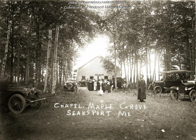 Chapel, Maple Grove, Searsport, ca. 1910