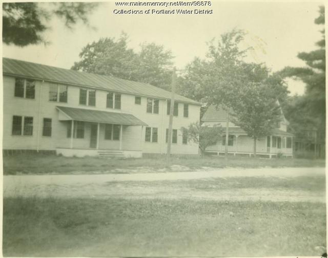 Smith's Mills Community Hall, Standish, 1923