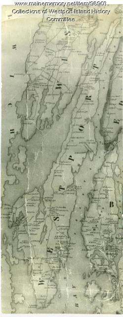 Map of Westport, 1857