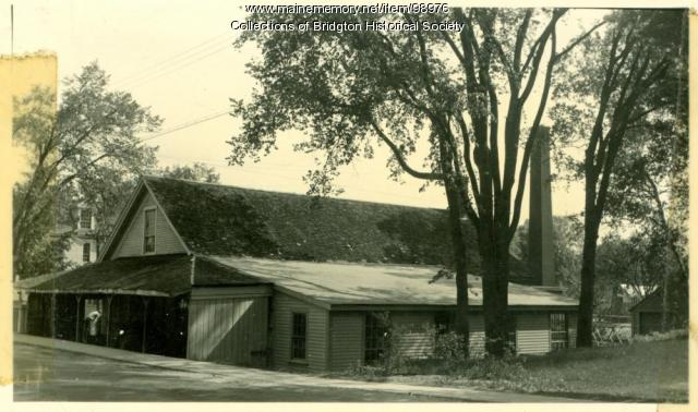 2 Portland Street, Bridgton, ca. 1938