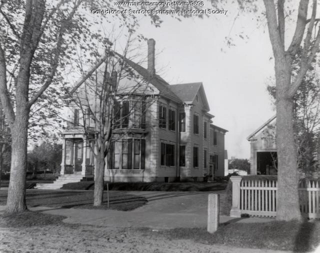 Garnsey Home, Main Street, Sanford, ca. 1900
