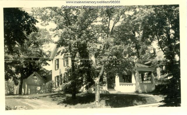 House on Main Street, Bridgton, ca. 1938