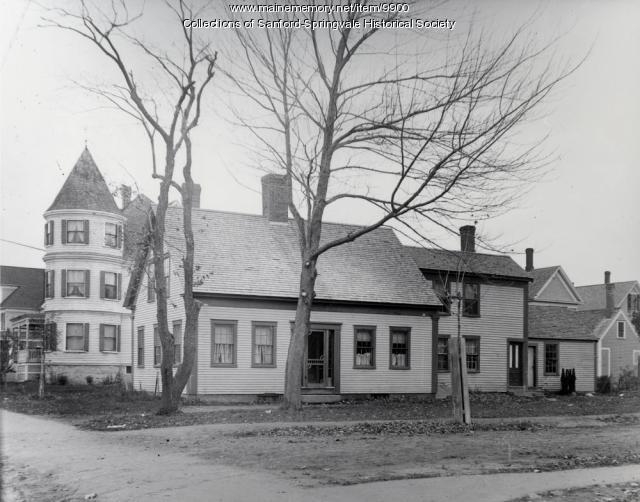 Main and Oak Sreets, Sanford, ca. 1905