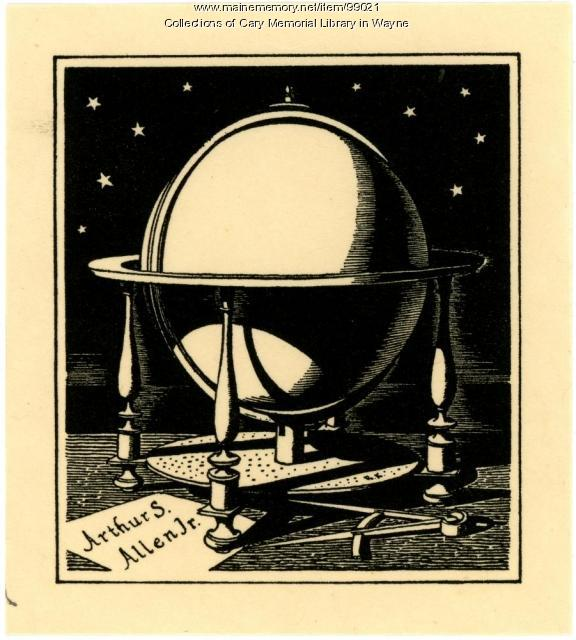 Arthur S. Allen Jr. bookplate, 1928