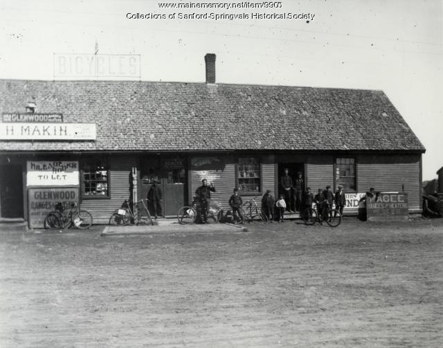 James H. Makin's Store, Springvale, early 1900s