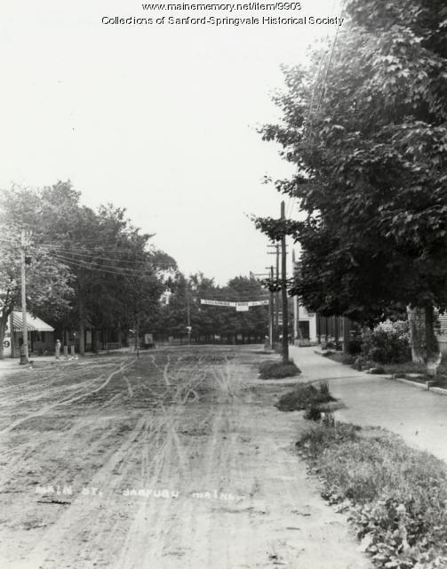 Main Street, Sanford, ca. 1900