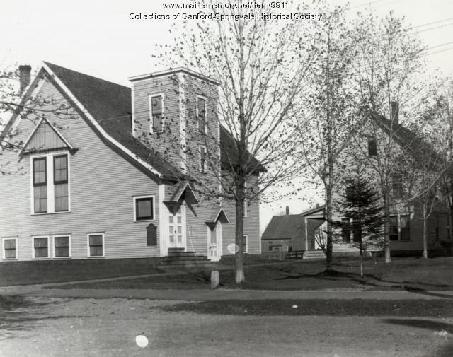Methodist Church, Sanford, ca 1910