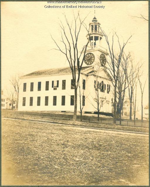 First Church, Belfast, ca. 1900