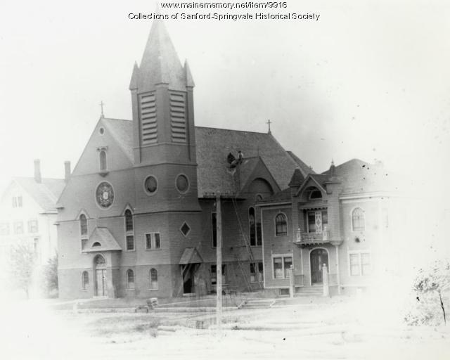 St. Ignatius, Martyr, Church, Sanford, ca. 1895