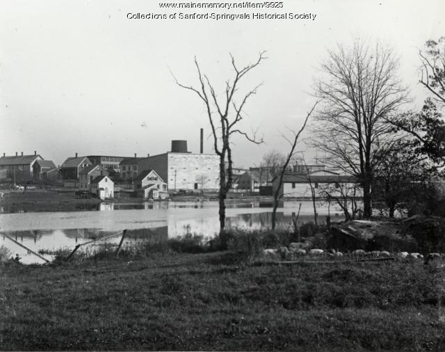 Mousam River, Sanford, ca 1910