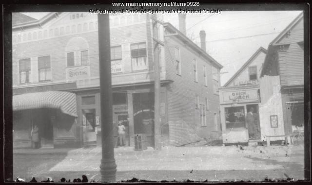Washington Street, Storefronts, Sanford, ca 1905