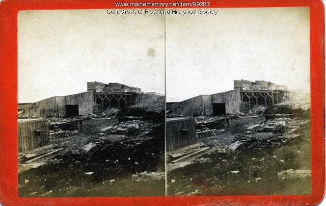 Five Kilns, Rockland, ca. 1875
