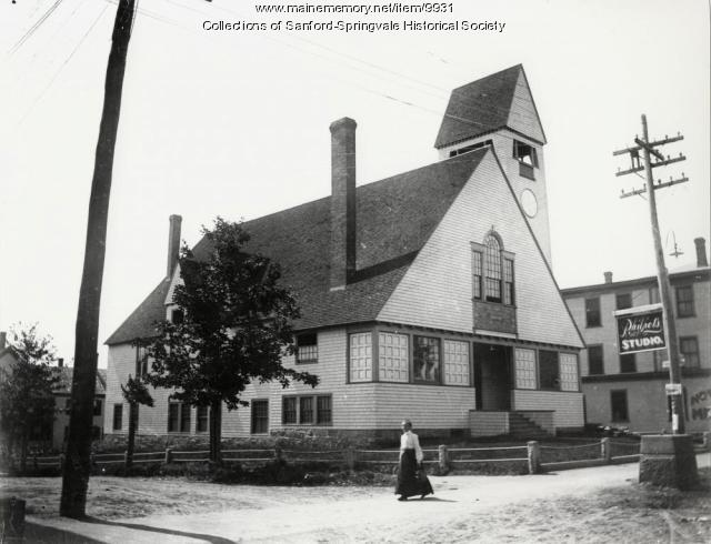 First Baptist Church, Sanford, ca. 1897
