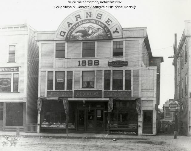 Garnsey Block, Sanford, ca. 1903