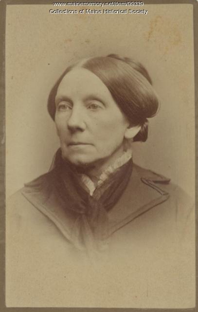 Lucretia Day Sewall, Portland, ca. 1865