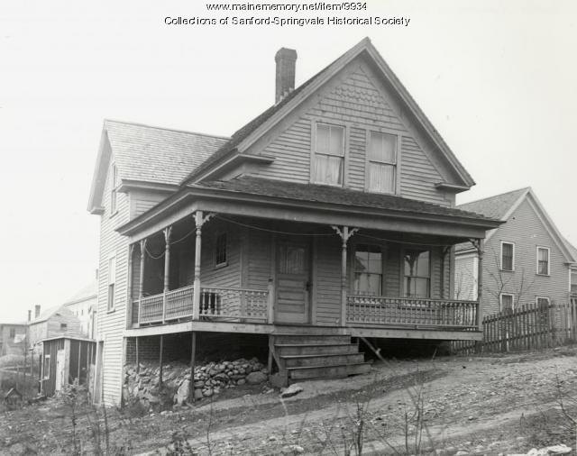 Sanford Home, ca. 1900
