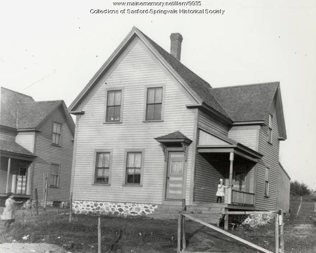 19 North Ave., Sanford, ca. 1900