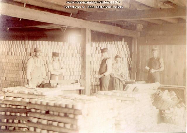 H.F. Webb Corn Shop interior, Leeds, ca. 1900