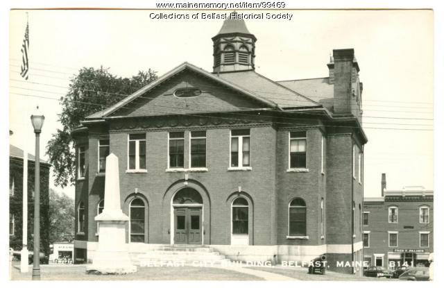 City Hall, Belfast, ca. 1950