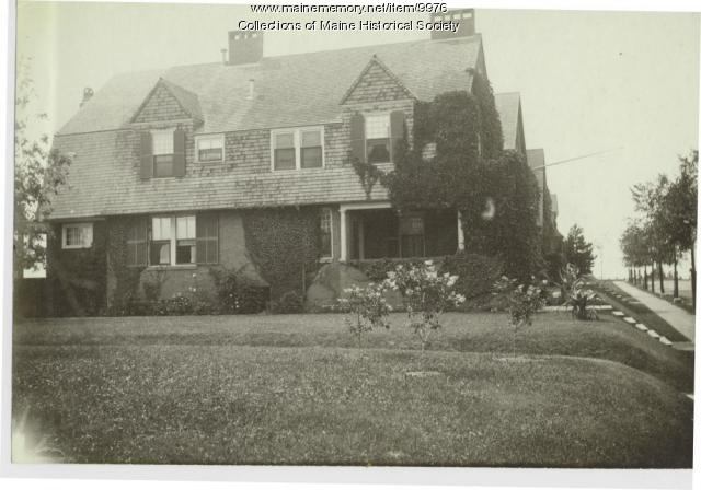 John Calvin Stevens' home, Portland, ca. 1900