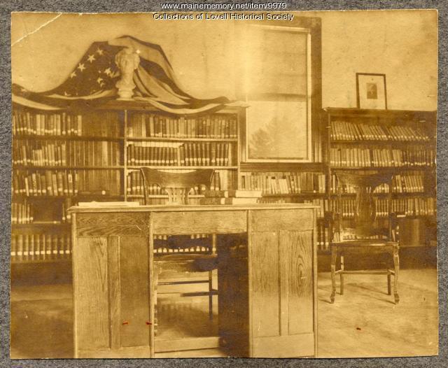 Lovell Library, ca. 1908