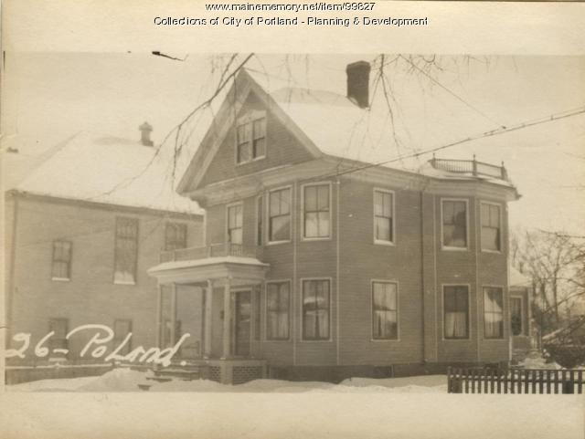 24-30 Poland Street, Portland, 1924