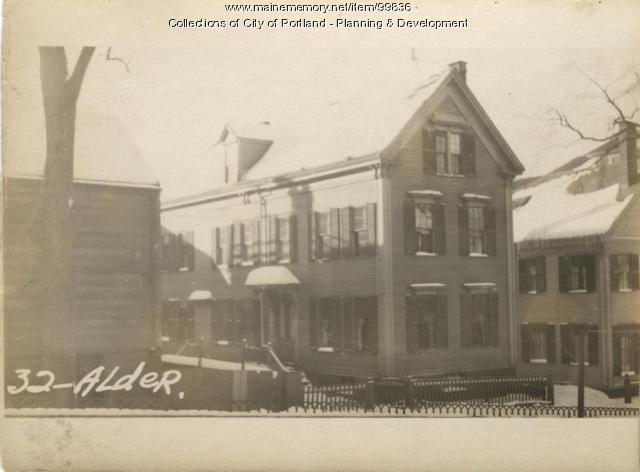 32 Alder Street, Portland, 1924