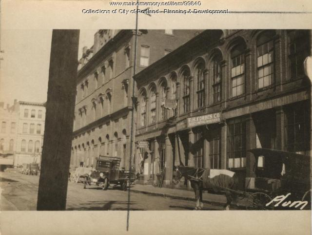 33-37 Plum Street, Portland, 1924