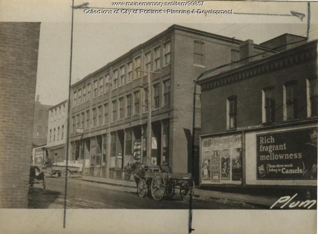 7-13 Plum Street, Portland, 1924