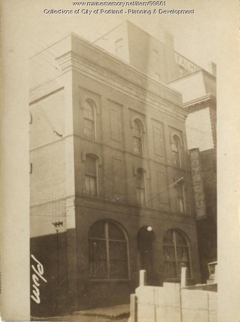 42-46 Plum Street, Portland, 1924