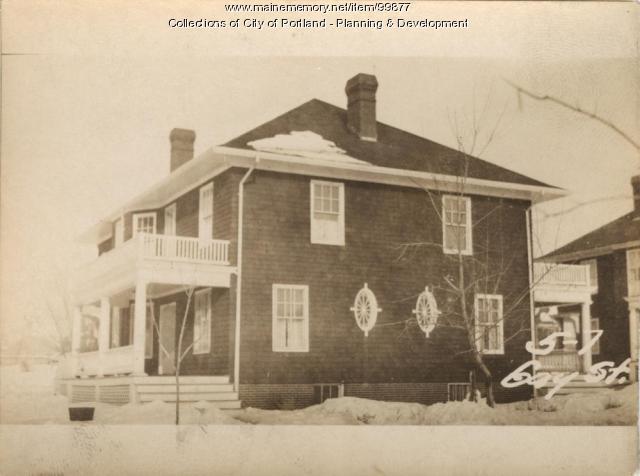 7-11 Gay Street, Portland, 1924