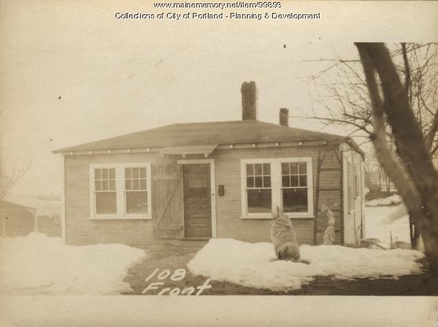 106-108 Front Street, Portland, 1924