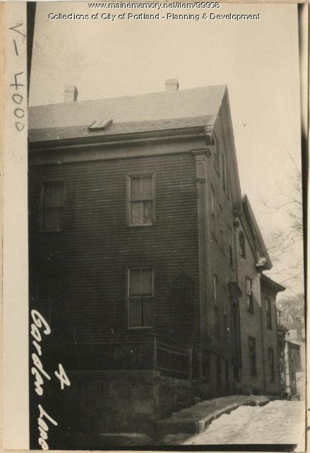 10-12 Garden Lane, Portland, 1924