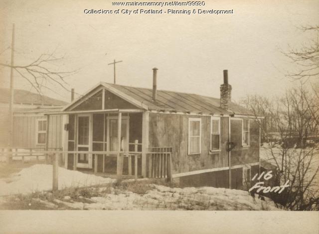 116 Front Street, Portland, 1924