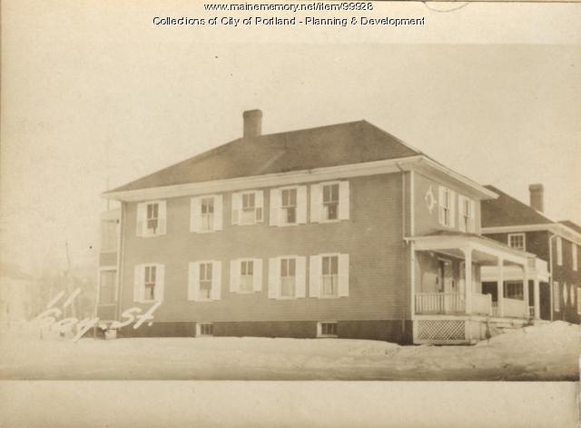 13-17 Gay Street, Portland, 1924