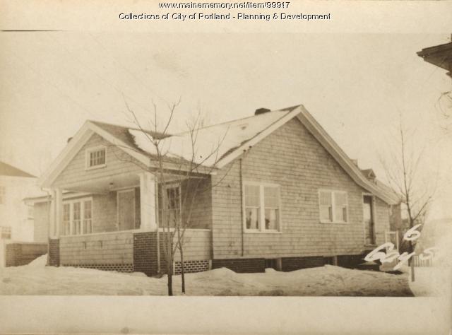 10-12 Gay Street, Portland, 1924