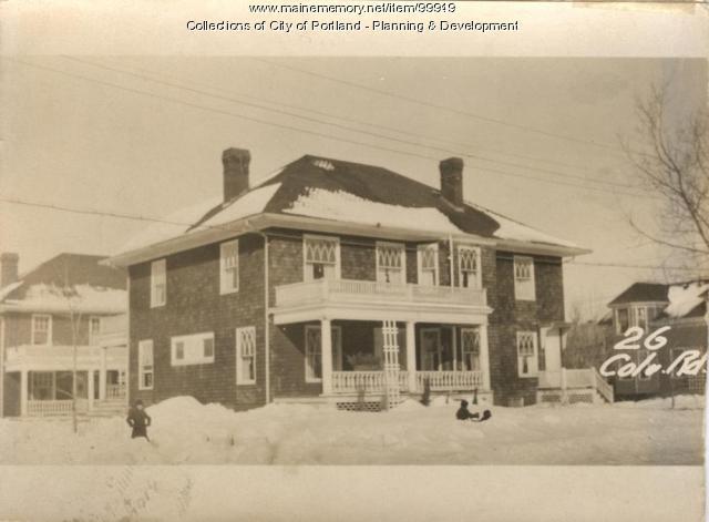 1-5 Gay Street, Portland, 1924