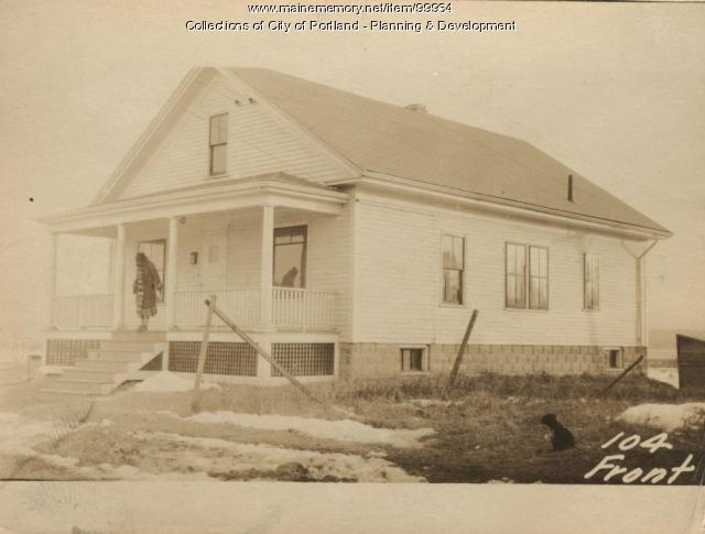 94-104 Front Street, Portland, 1924