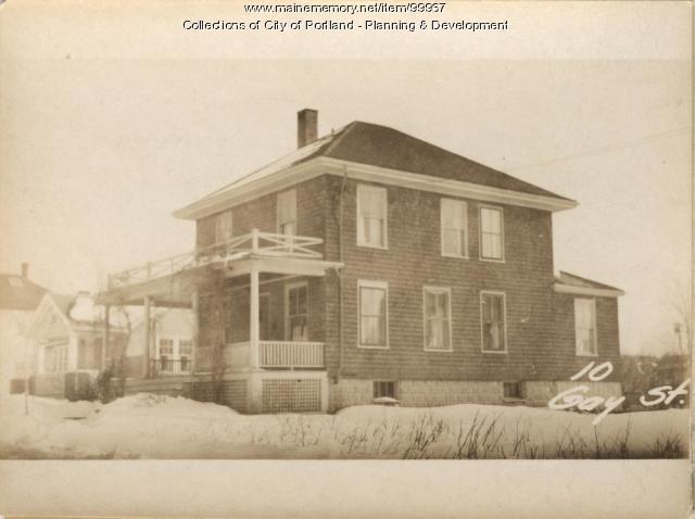 14-18 Gay Street, Portland, 1924
