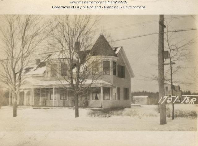 1747-1769 Forest Avenue, Portland, 1924
